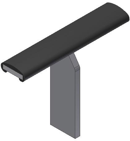 BR. HL 18 - Fladstål - PVC